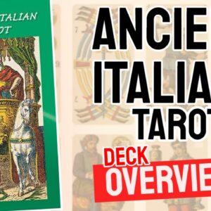 Ancient Italians Tarot Deck Overview - All Tarot Cards List