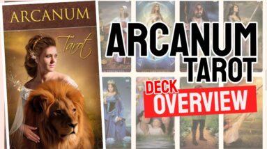 Arcanum Tarot Deck REVIEW - All Tarot Cards List