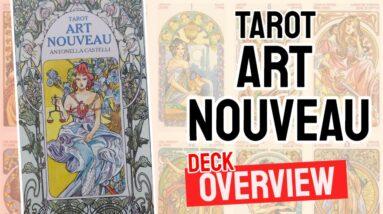 Art Nouveau Tarot Deck REVIEW - All Tarot Cards List