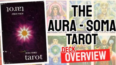Aura Soma Tarot Deck REVIEW - All Tarot Cards List