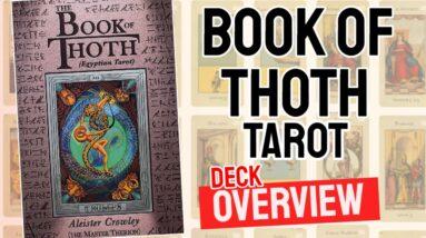 Book of Thoth Tarot Deck Overview - All Tarot Cards List