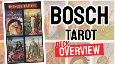 Bosch Tarot Deck REVIEW - All Tarot Cards List