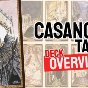 Casanova Tarot Deck REVIEW - All Tarot Cards List