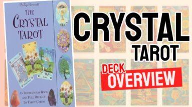 Crystal Tarot Deck Overview - All Tarot Cards List