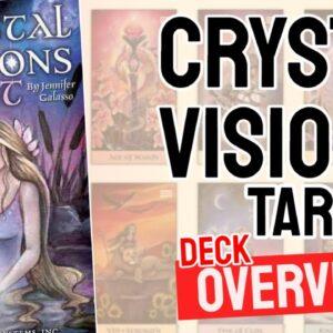 Crystal Visions Tarot Deck Overview - All Tarot Cards List
