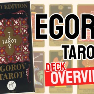 Egorov Tarot Deck Overview - All Tarot Cards List