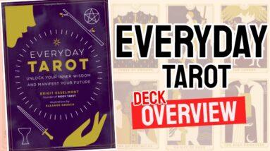 Everyday Tarot Deck REVIEW - All Tarot Cards List