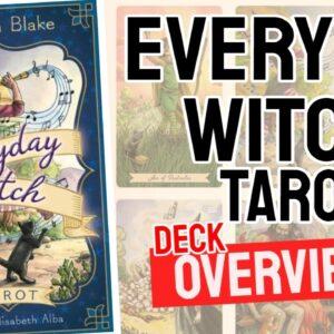 Everyday Witch Tarot Deck REVIEW - All Tarot Cards List