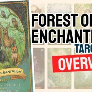 Forest Of Enchantment Tarot Deck REVIEW - All Tarot Cards List!