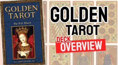 Golden Tarot Deck REVIEW - All Tarot Cards List