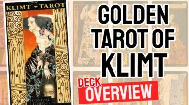 Golden Tarot of Klimt Deck REVIEW - All Tarot Cards List