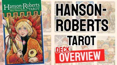 Hanson Roberts Tarot Deck Review - All Tarot Cards Overview