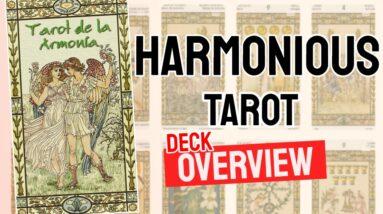 Harmonious Tarot Deck Overview - All Tarot Cards List