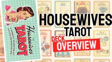 Housewives tarot Deck Overview - All Tarot Cards List