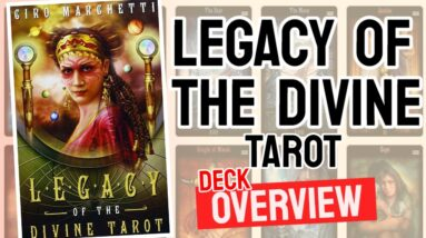 Legacy of The Divine Deck REVIEW - All Tarot Cards List