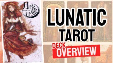 Lunatic Tarot Deck REVIEW - All Tarot Cards List