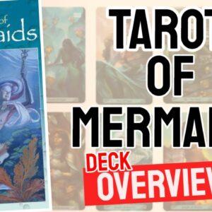 Mermaid Tarot Deck Overview - All Tarot Cards List