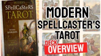 Modern Spellcaster's Tarot Deck Overview - All Tarot Cards List