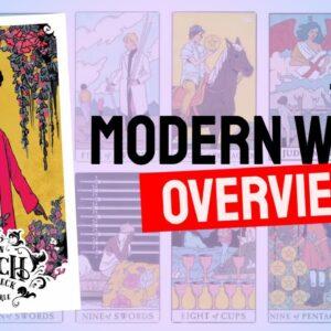 Modern Witch Tarot Deck REVIEW - All Tarot Cards List!