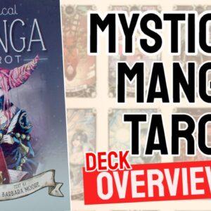 Mystical Manga Tarot Deck Overview - All Tarot Cards List