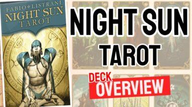 Night Sun Tarot Deck Overview - All Tarot Cards List