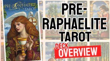 Pre-Raphaelite Tarot Deck Overview - All Tarot Cards List