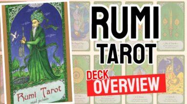 Rumi Tarot Deck REVIEW - All Tarot Cards List