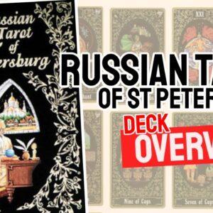 Russian Tarot Of St Petersburg Deck REVIEW - All Tarot Cards List