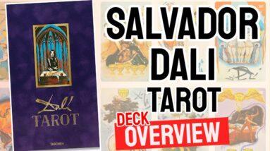 Salvador Dali Tarot Deck Overview - All Tarot Cards List