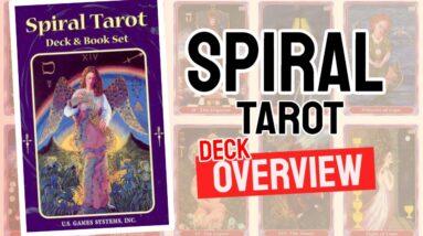 Spiral Tarot Deck REVIEW - All Tarot Cards List