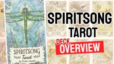 Spiritsong Tarot Deck REVIEW - All Tarot Cards List