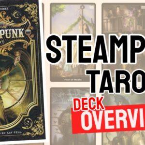 Steampunk Tarot Deck REVIEW - All Tarot Cards List