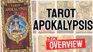 Tarot Apokalypsis Deck REVIEW - All Tarot Cards List
