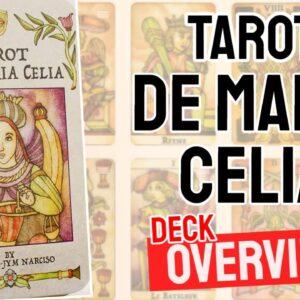 Tarot De Maria Celia Deck Overview - All Tarot Cards List