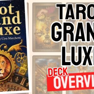 Tarot Grand Luxe Deck Overview - All Tarot Cards List