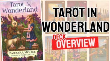 Tarot in Wonderland Deck REVIEW - All Tarot Cards List