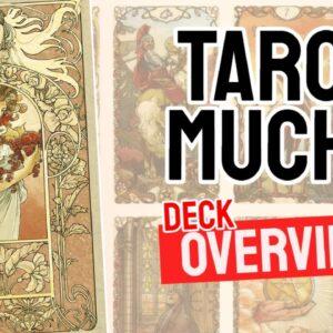 Tarot Mucha Deck REVIEW - All Tarot Cards List
