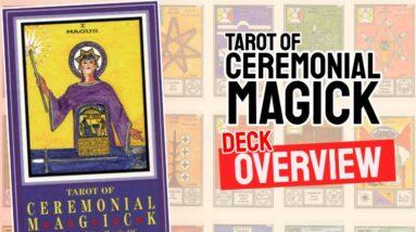 Tarot Of Ceremonial Magick Deck REVIEW - All Tarot Cards List