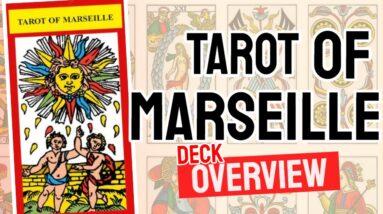 Tarot of Marseilles Deck Overview - All Tarot Cards List