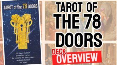 Tarot of the 78 Doors Deck Overview - All Tarot Cards List