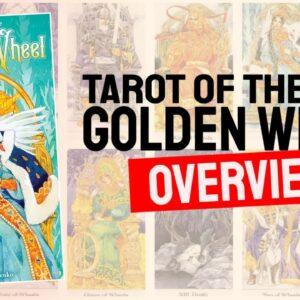 Tarot Of The Golden Wheel Deck REVIEW - All Tarot Cards List Review