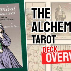 The Alchemical Tarot Deck REVIEW - All Tarot Cards List