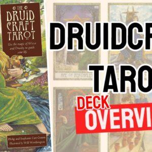 The Druidcraft Tarot Deck REVIEW - All Tarot Cards List
