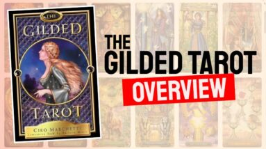 The Gilded Tarot Deck REVIEW - All Tarot Cards List Review