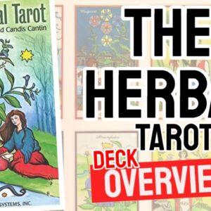 The Herbal Tarot Deck REVIEW - All Tarot Cards List