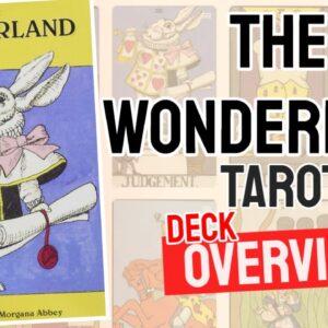 The Wonderland Tarot Deck REVIEW - All Tarot Cards List