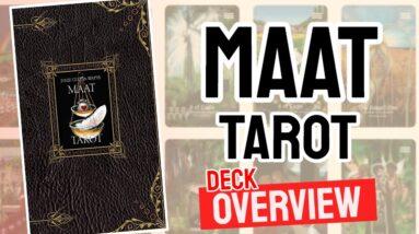 MAAT Tarot Deck Overview - All Tarot Cards List