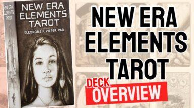 New Era Elements Tarot Deck Overview - All Tarot Cards List