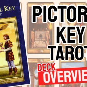 Pictorial Key Tarot Deck Overview - All Tarot Cards List