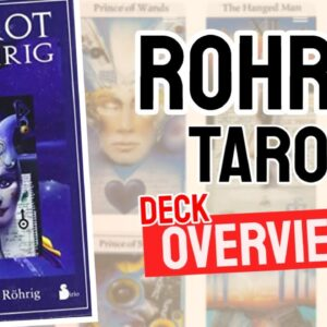 Tarot de Rohrig Deck Overview - All Tarot Cards List